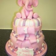 pink_elephant_cake_2_tier_balls_christening.jpg